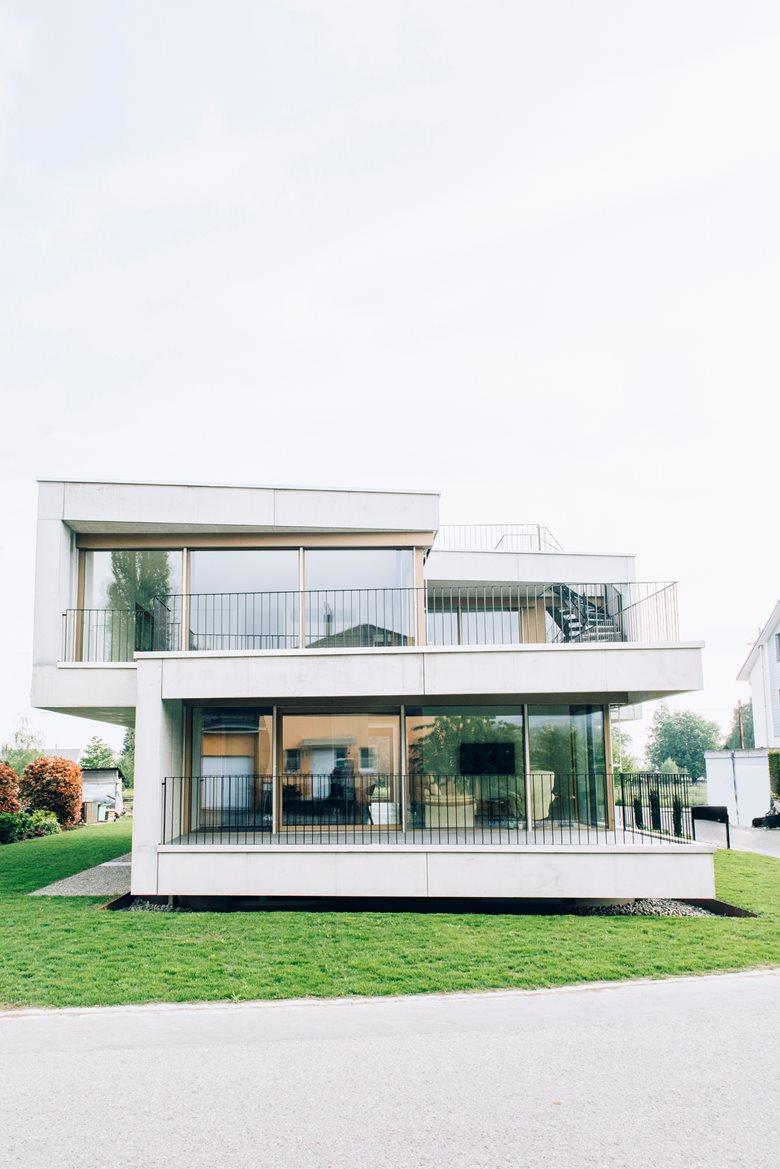 Haus zur Rebe - duplex house