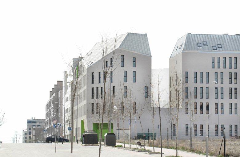 Social housing in Vallecas