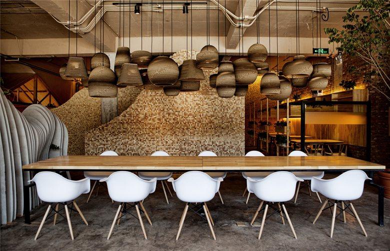 """""""Ban Shan Café"""" Interior Design"""