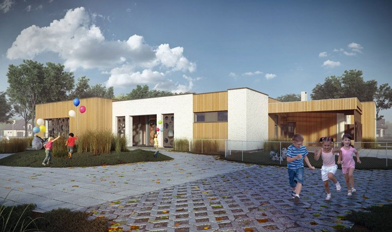 Kindergarten for 40 children in 'Rastuschi' cluster home community