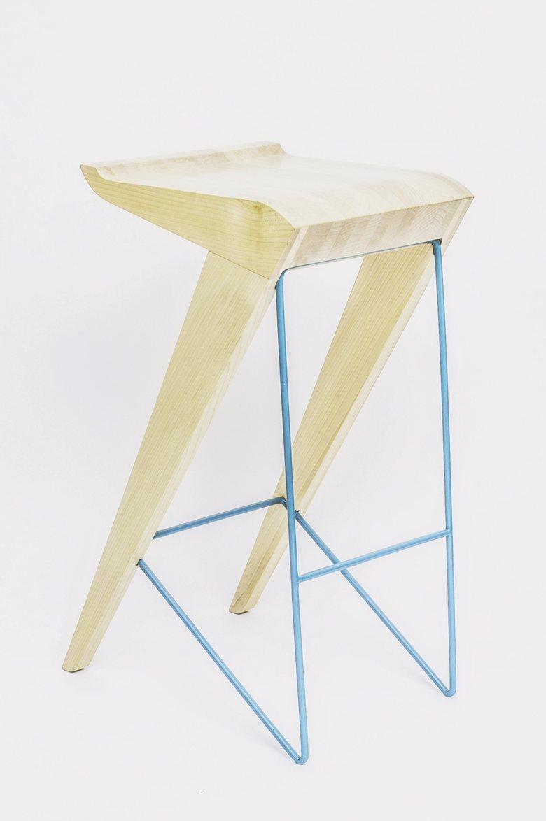 "Bar stool ""Curve"""