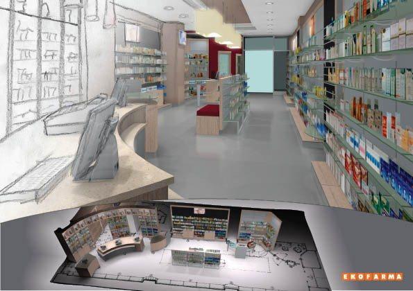 Ekofarma s.r.l. arredo farmacie su misura