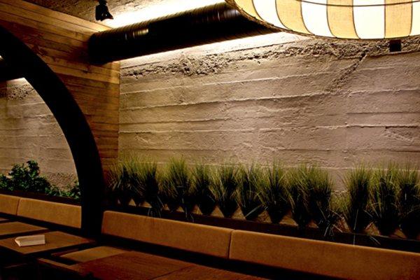Cement Fiber Panel Application - Restaurant in İstanbul