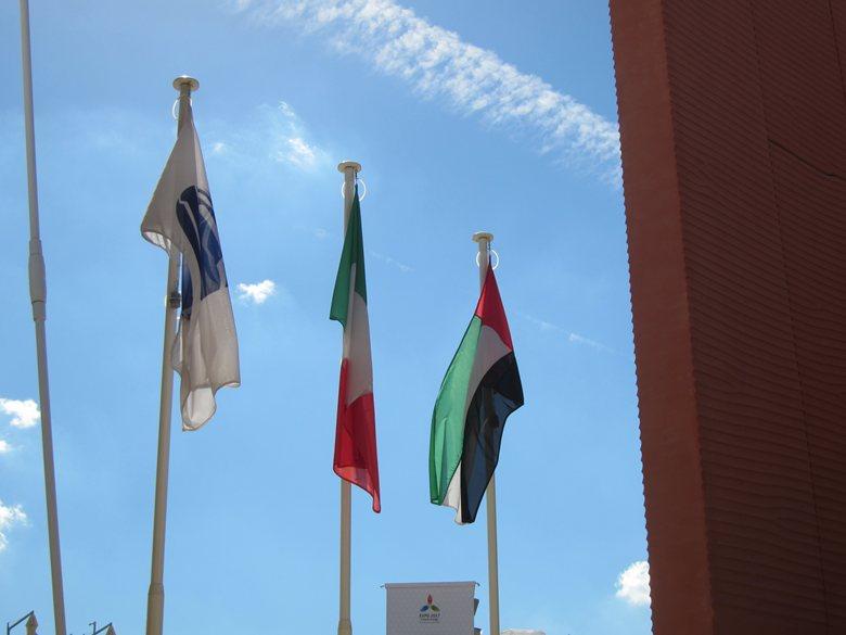 Padiglioni EXPO MI 2015 www.pennoniredaelli.it