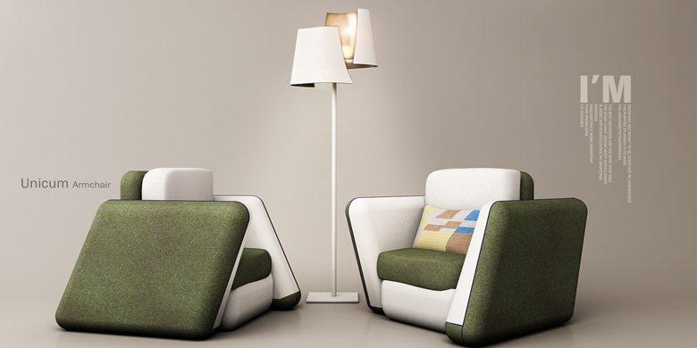 Unicum armchair