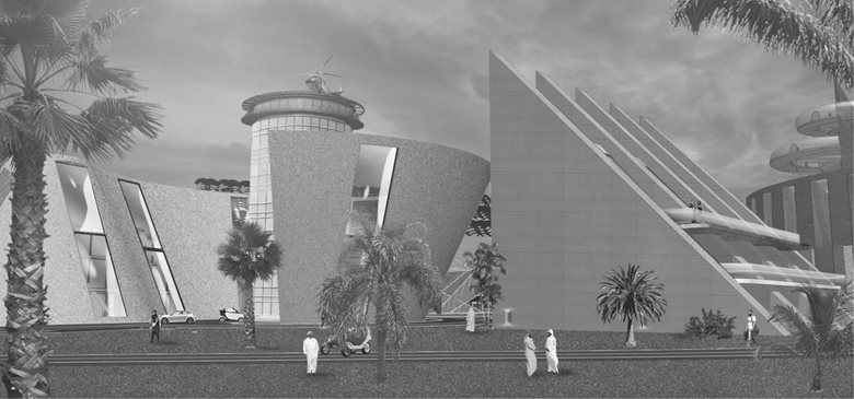 Offices, Parking and Heliport - Competition International