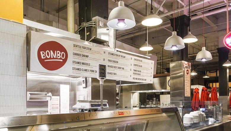 Bombo Foods, Los Angeles - Lighting by ilomio