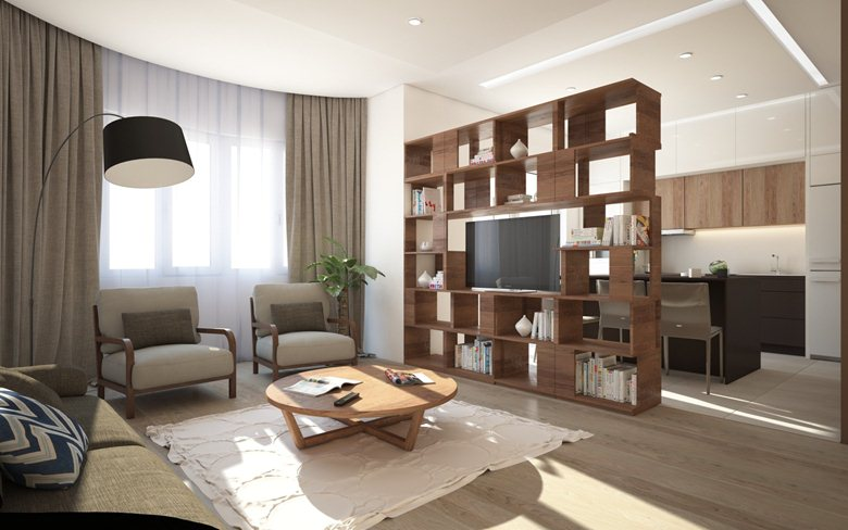 Clean modern apartments