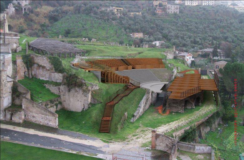 Appalto-concorso sull'area archeologica del Santuario di Ercole Vincitore a Tivoli