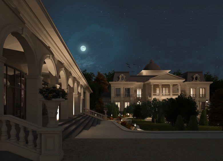 """Private villa in Almaty """"Navoi 3 project"""""""