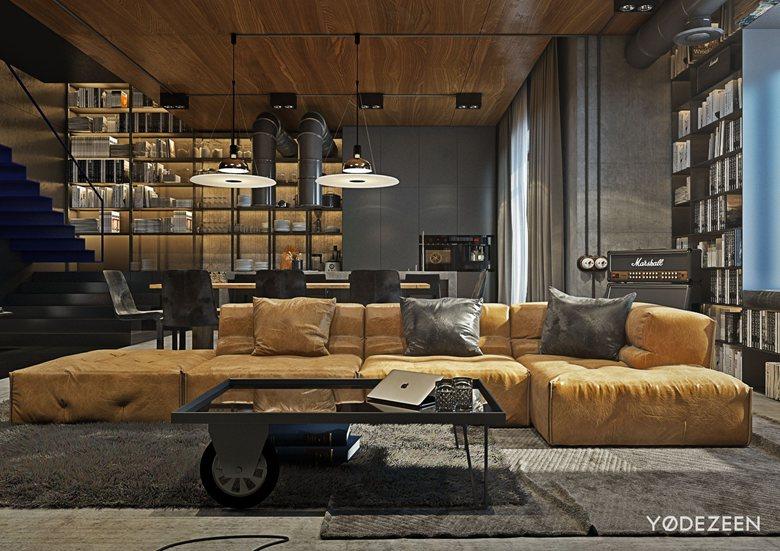Loft-duplex   YODEZEEN Architects
