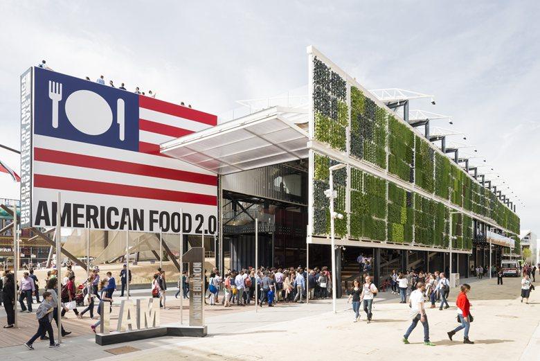 USA Pavilion at Expo Milano 2015
