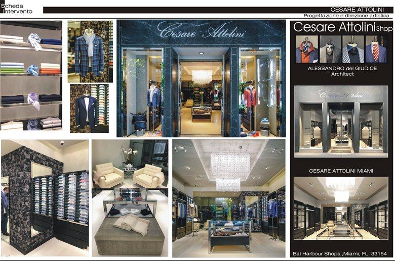 New boutique for Cesare Attolini Balharbour Miami