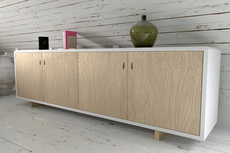Credenza Moderna Laccata Bianca : Gallery of zest living calligaris madia moderna economica
