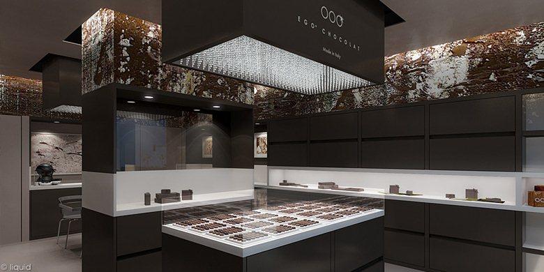 ego chocolat showroom concept
