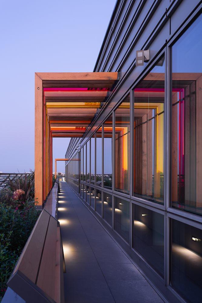 Amenagement de terrasses pour immeuble de bureaux