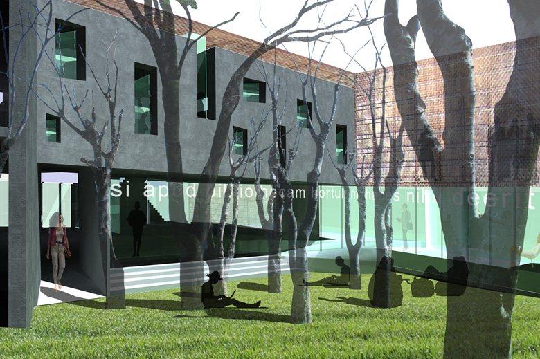Ampliamento della bibloteca provinciale di Campobasso