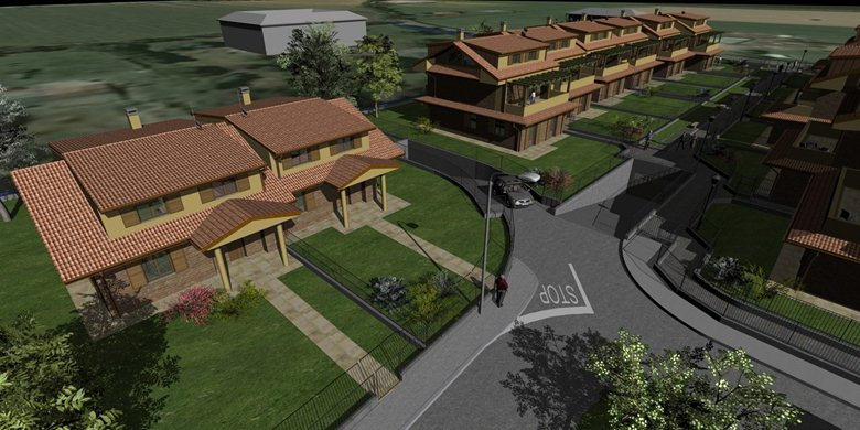 Villette bifamiliari e appartamenti