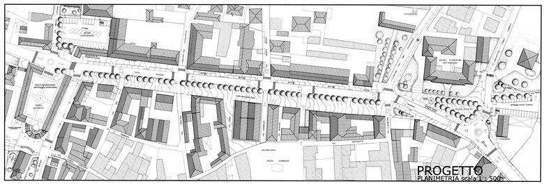 Riqualificazione e rifunzionalizzazione di Viale Mazzini Barge