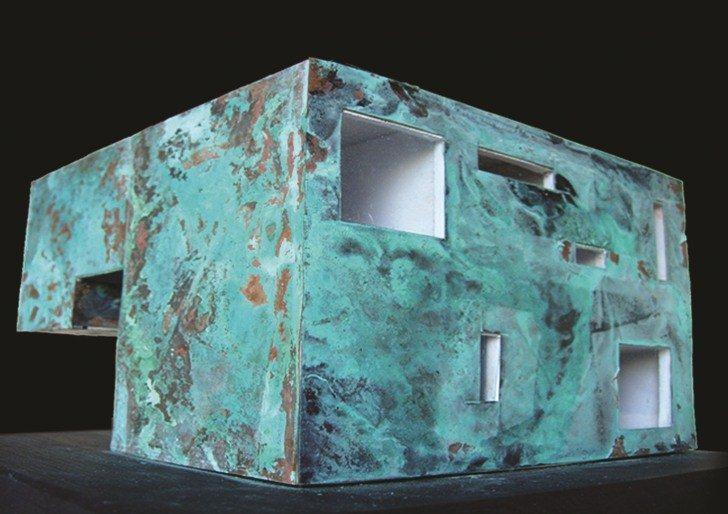Modello residenza sul lago Bilancino
