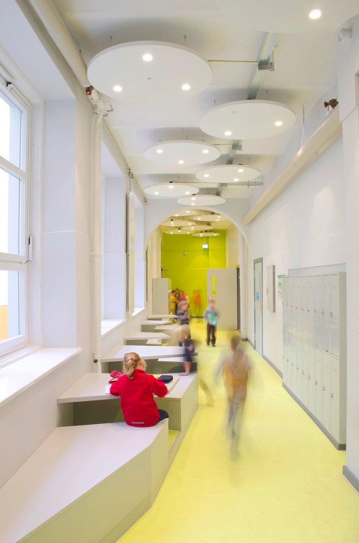 BSL - refurbished corridors historical elementary school