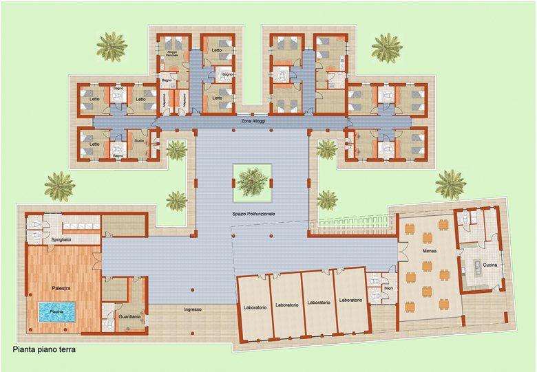 Casa alloggio per diversamente abili