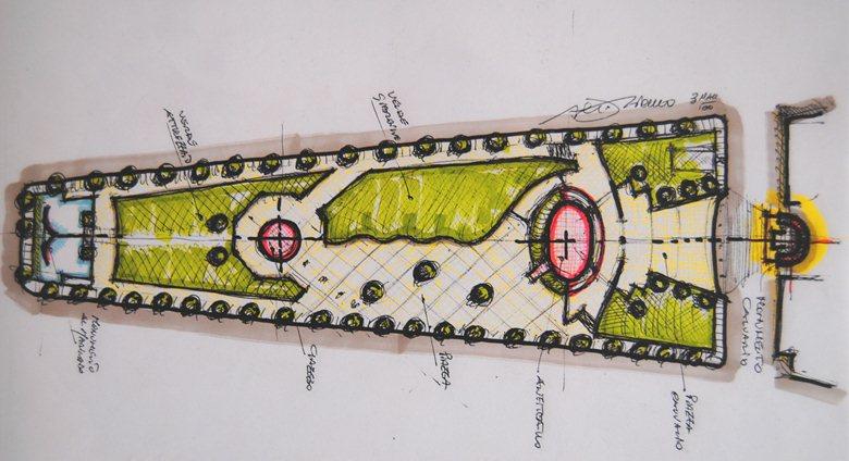 """LLPP_""""giardini del sole"""" in piazza beltrano"""