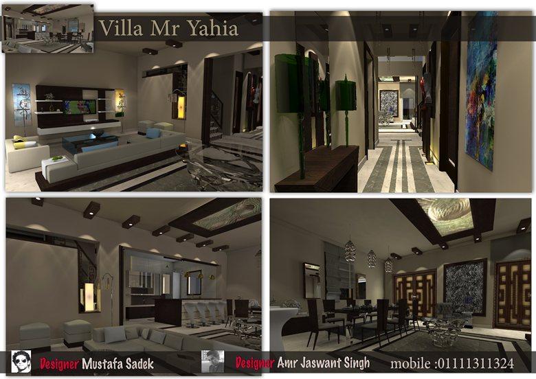 Design villa Mr yahia with Architect Amr Virdhi