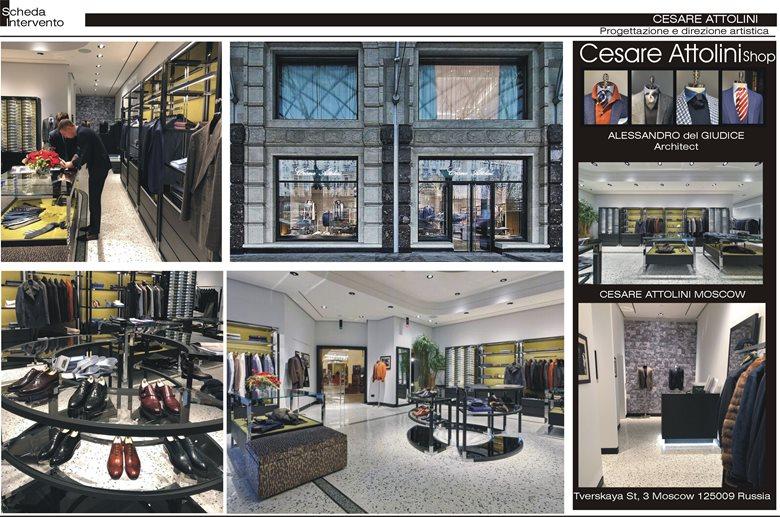 New boutique for Cesare Attolini in Mosca
