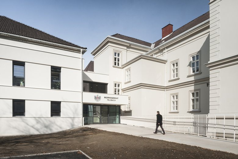 Um-und Zubau Bezirksgericht Feldbach