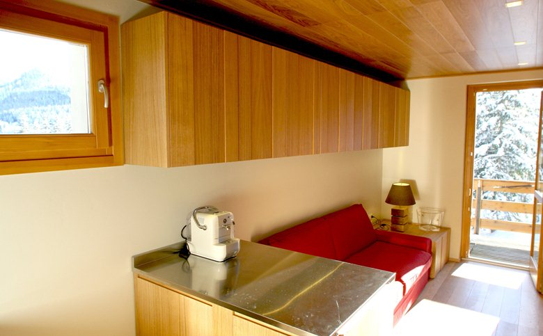 Mountain small apartment