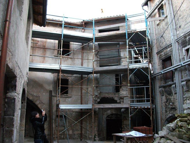 L ex ghetto ebraico di Civitaretenga: intervento di ripristino strutturale e miglioramento sismico