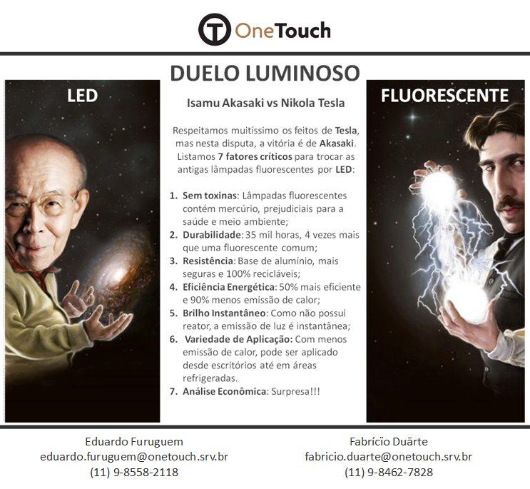 7 fatores fundamentais para a troca das lâmpadas fluorescentes pelas lâmpadas tubulares LED