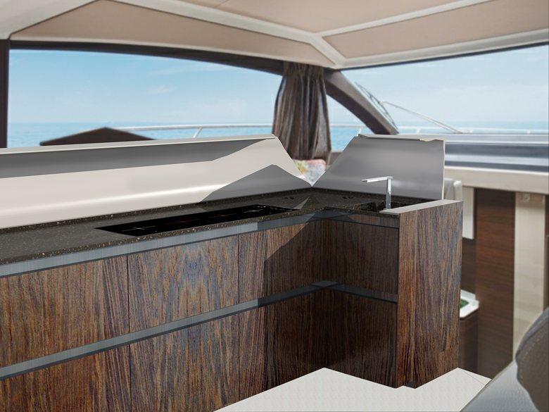 """The perfect Kitchen """"Azimut yacht"""""""