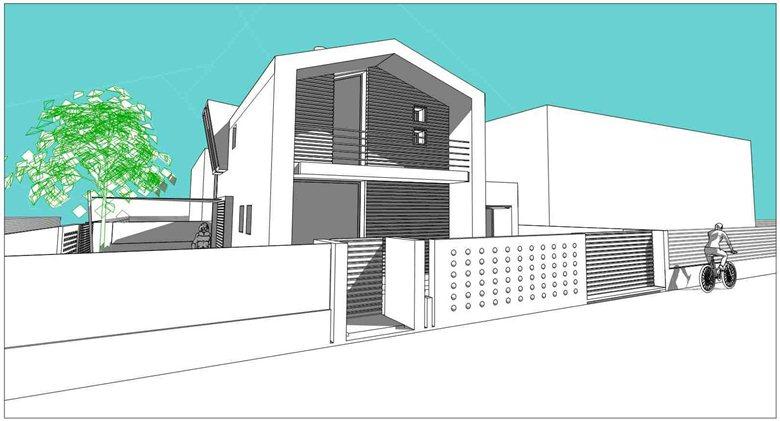 Progetto di ristrutturazione-restauro di un edificio residenziale