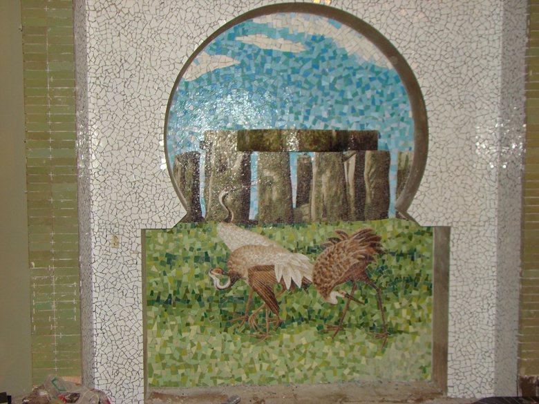 Mosaico In smalto veneziano