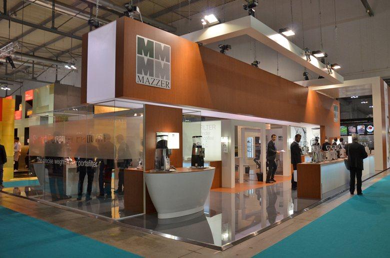 """Allestimento fieristico per """"Mazzer"""" - Host 2015"""