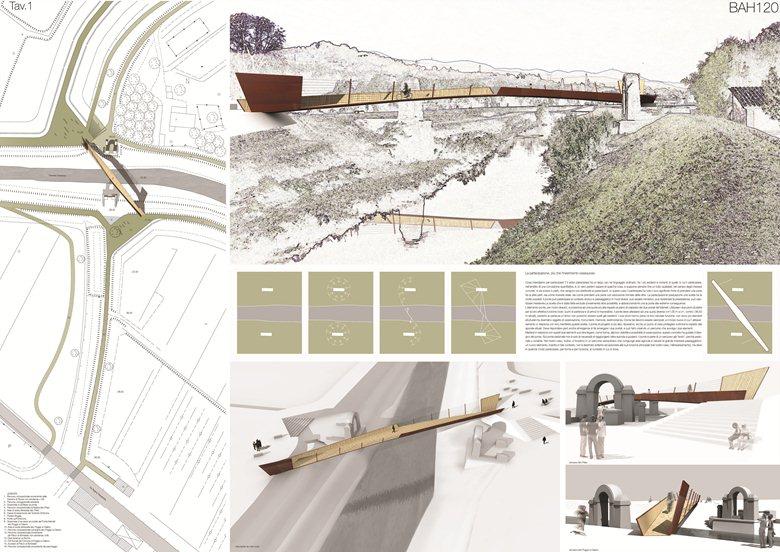 Ponte del Manetti: ponte ciclo-pedonale nella sede del