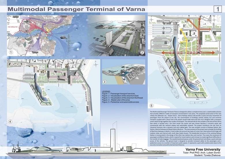 Multimodal Passenger Terminal of Varna