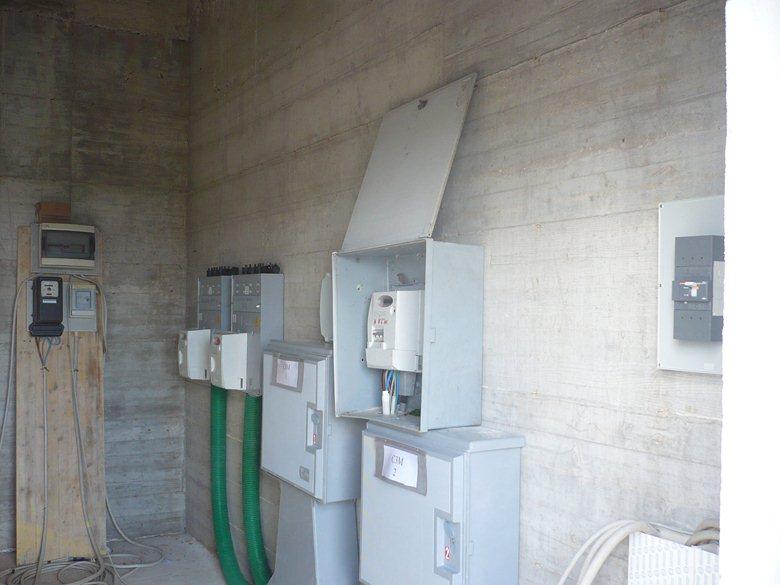 Impianto elettrico attività commerciale