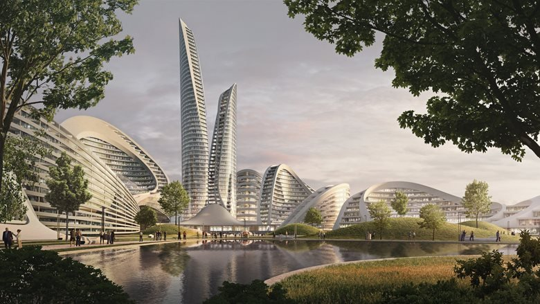 CONCEPT FOR CLOSED INTERNATIONAL COMPETITION FOR THE DEVELOPMENT   OF THE RUBLEVO-ARKHANGELSKOYE TERRITORY (SMART CITY)