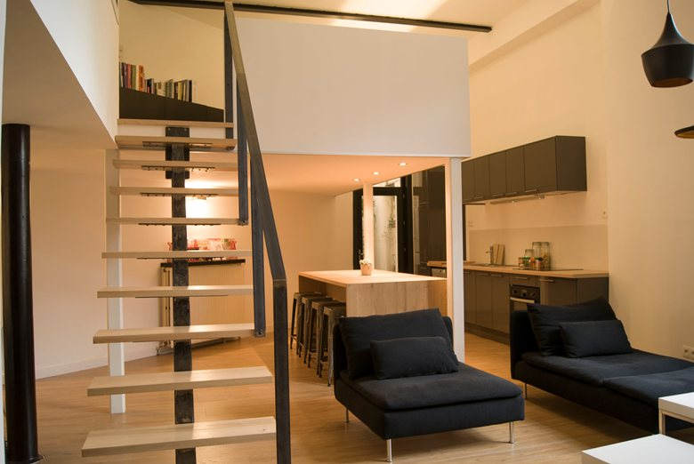 Restructuration complète d'un Loft