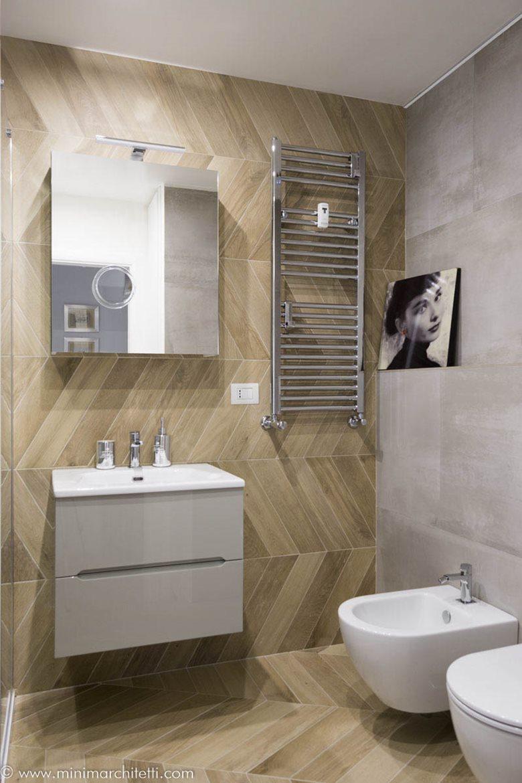 BAGNO CON LAVANDERIA | MINIMA Architetti