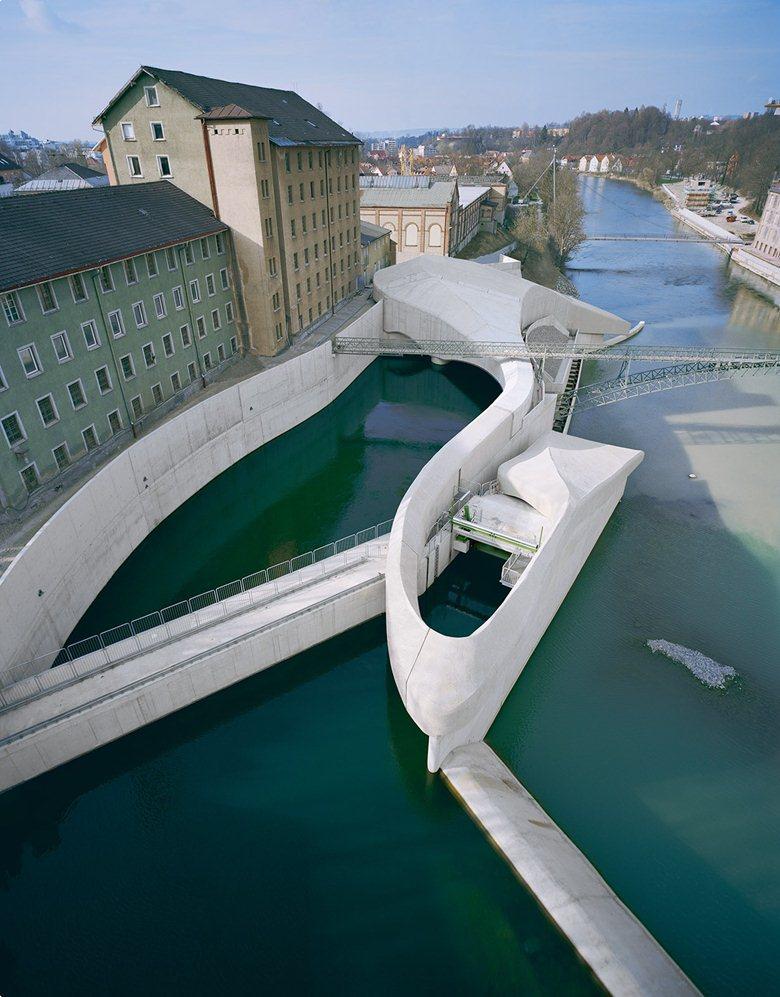 Hydro-electric powerstation