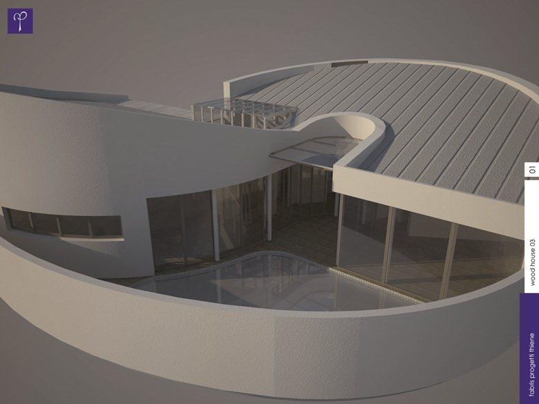 The curve House