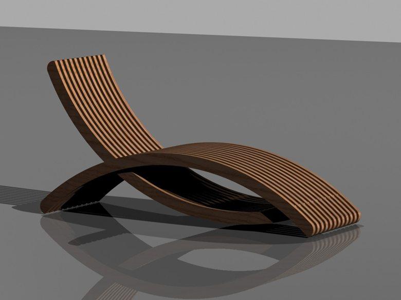 Chaise longue drop