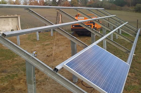 Strutture Portanti per Impianti Fotovoltaici a Terra