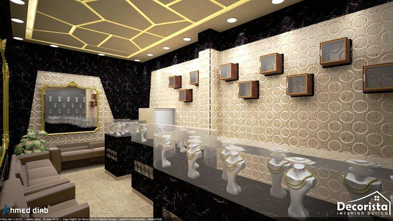 Al Hanaa Jewellery Shop Decorista For Interior Design