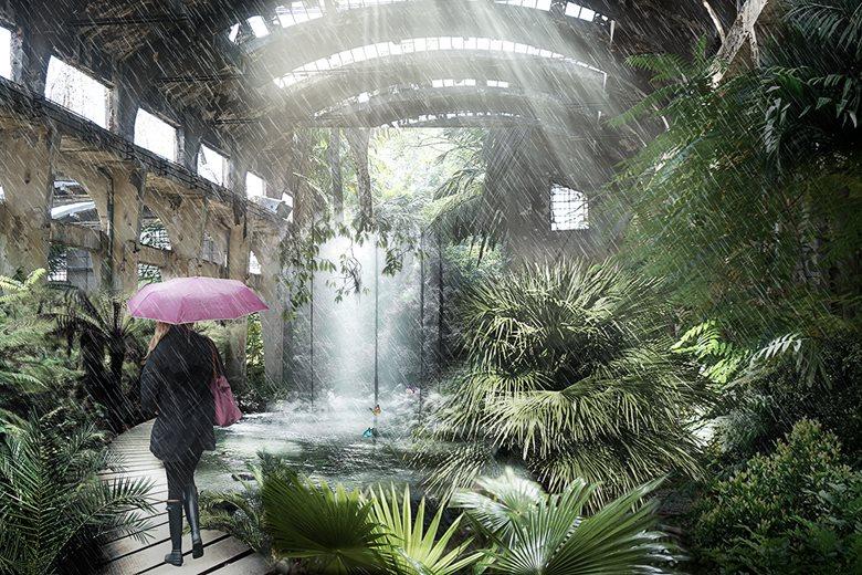 Botanical Garden - Sofia Railway Depot