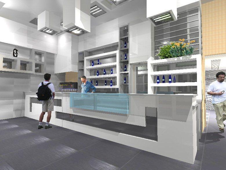 arredo design bar preziosi trivelli architetti